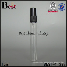 custom 10ml liquid packaging bottle, perfume stick glass sprayer bottle, made in China
