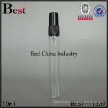 пользовательские 10 мл жидкости упаковка бутылки, духи ручки стекло распылитель бутылка, сделано в Китае