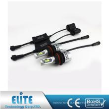 H16 G8 6000LM 6500 K XHP50 levou farol branco único Kit de conversão de luz lâmpadas com ventilador de turbina, CE ROHS