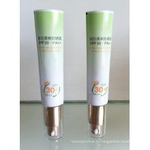 Алюминиевые ламинированные труба для солнцезащитный крем с головки насоса 25 мм