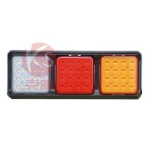 LED Trailer Light Type with Combination Rear LED Tail Light LED Truck Light with Stop Turn Tail Function Square