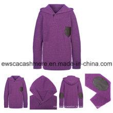 Men′s Solid Color 100% Pure Cashmere Knitwear