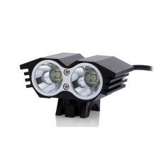 Luz de la bicicleta LED del CREE Xml T6 del poder más elevado 2 * CREE del diseño 20W 1500lm del ojo