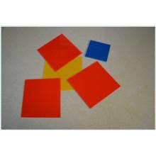 Folha colorida dos PP / folha do polipropileno