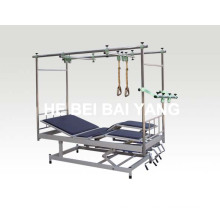 (A-141) Tilted Orthopedics Traction Bed with Detachable Legs