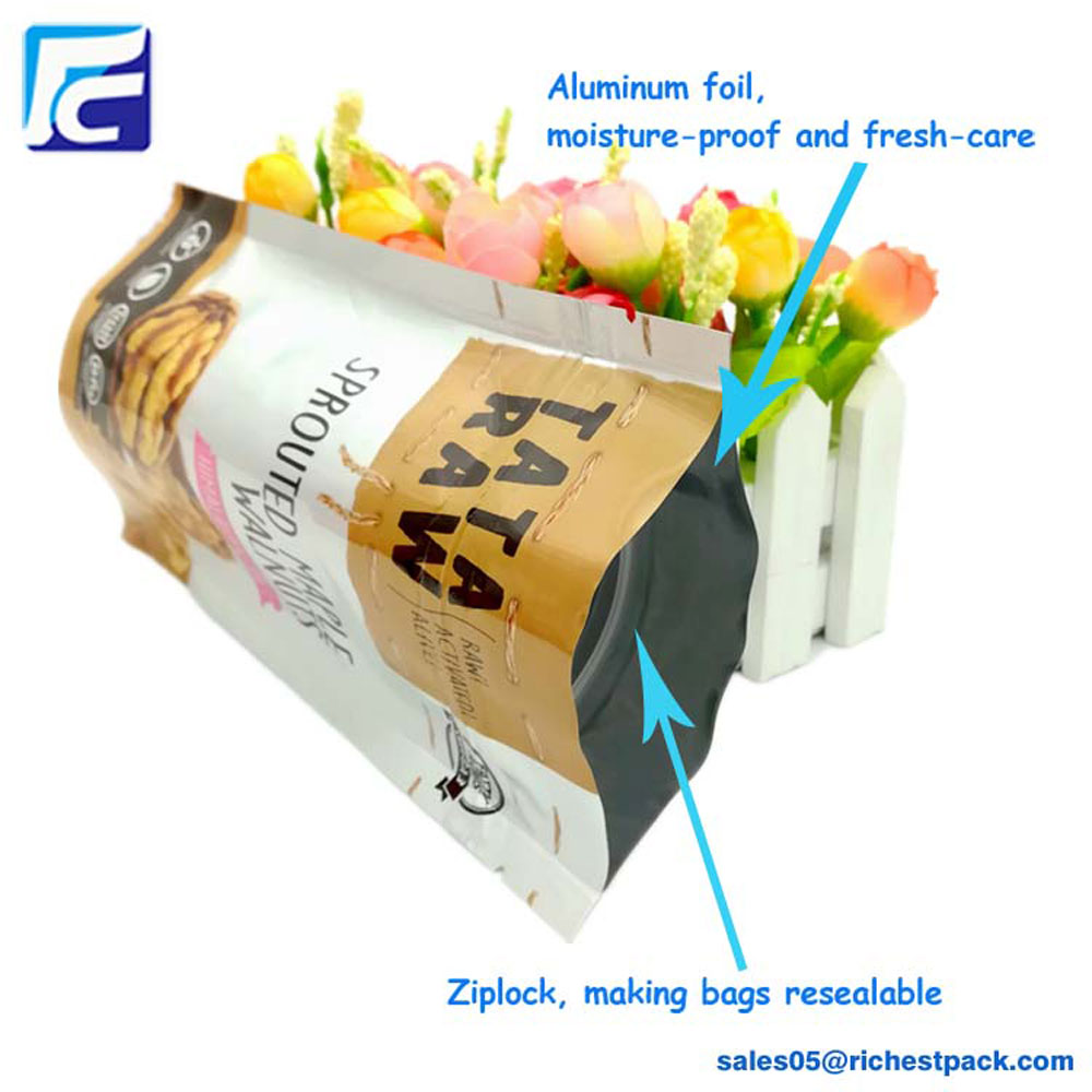 Plastic Cashew Nut Packaging Bag