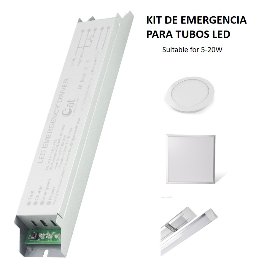 Kit De Emergencia Para Tubos Led