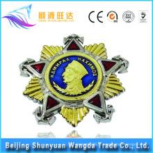 Emblema do emblema do metal Emblema do emblema militar Pin com seu próprio projeto