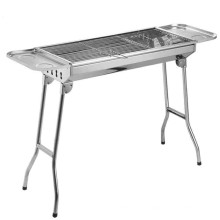 European Stainless Steel Rectangular Charcoal BBQ Grill,