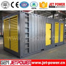 Schalldichter elektrischer Dieselgenerator 600kw 750kVA angetrieben durch Doosan-Maschine