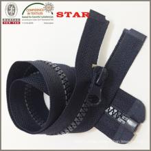 Black Plastic Zipper for Women Bags (#5)