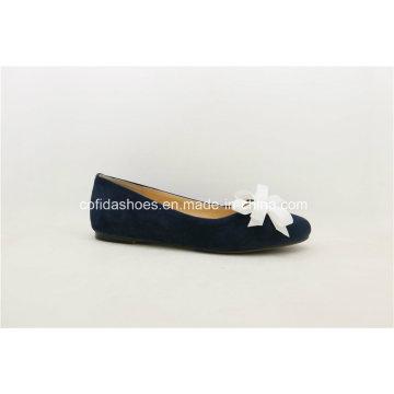 SGS aprobado de alta calidad hecha a mano zapatos de cuero de la señora