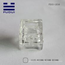 2015 mini hübsche ABS Material quadratische Lippenbalsam Fall machen Sie eigenes Rohr mit Herzform innen