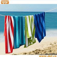 Toalha de praia 100% algodão listrada (DPF70422)