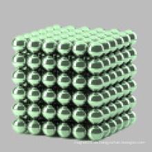 NdFeB farbige magnetische Perlen 216 ein Kasten