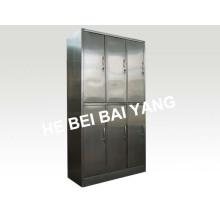 (C-13) Sechs Türen Edelstahl Kleider wechselnden Schrank