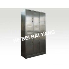 (C-13) Six Doors Stainless Steel Clothes Changing Cabinet