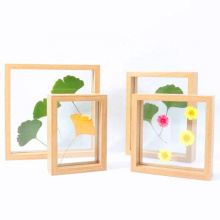 High Quality Custom 4x6 5x7 8x8  8x10 11x14  3D DIY Plant Specimen Shadow Box Frame Display Case Floating Frame for Souvenir