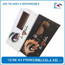 Sencai woman cosmetic packaging paper box for mink false eyelash