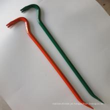 Extrator de prego de aço liso do preço mais barato / barra de alavanca lisa