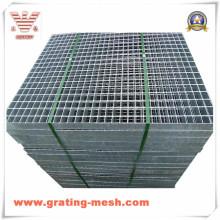 Barre non traitée/galvanisée/fermée /caillebotis en acier pour plate-forme