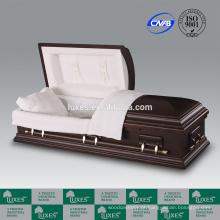 LUXES caixões baratos para venda Bordeaux de caixão de madeira MDF