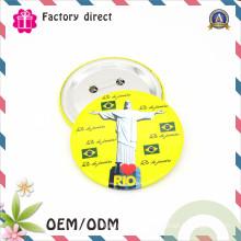Custmo Hight Quality Metal Button Badge