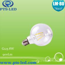 G125 8W Dimmable lâmpada incandescente