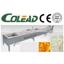 vegetable precooking machine/Vegetable blancher/steam blanching machine