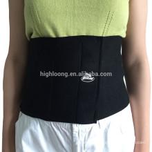 Cinturón de la ayuda de la parte posterior de la ayuda del apoyo de la cintura del neopreno del diseño simple