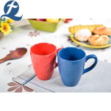 Colorful Ceramic Tea Coffee Mug round without handle