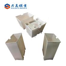 plastic injection garbage can mould, dust bin molds, trash bin molding