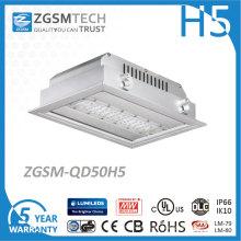Zgsm-Technologie 50W Tankstelle-Überdachungs-LED, die mit Ce RoHS beleuchtet