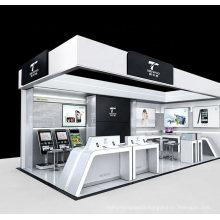 Mall Shop Display Counter Interior Design Showcase Shelf Custom