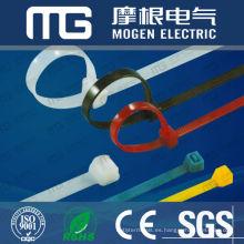 Factory custom nylon self locking plastic long releasable cable ties