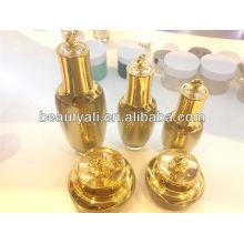 30ml 60ml botellas de acrílico de la crema de los cosméticos de la flor 100ml / botellas poner crema cosmética de la bomba