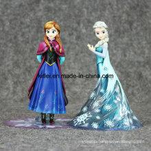 Wholesale Frozen Elsa and Anna PVC Plastic Anime