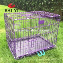 Iron foldable dog cages for United Kingdom