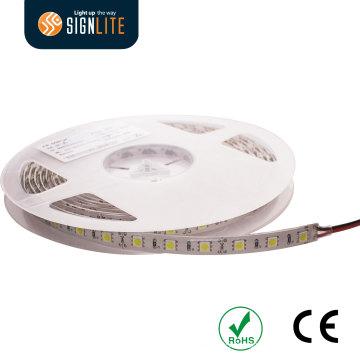 3 ans de garantie flexible/corde 30LEDs DC12V 6watt SMD5050 non étanche IP65 bande lumineuse LED