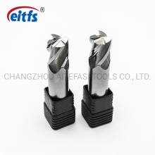 4mm Solid Carbide 4 Flute Flat End Mill Without Coating