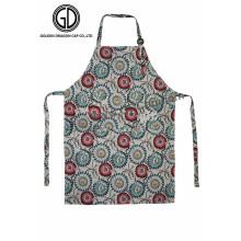 Best Design Flower Pattern Kitchen Artist Aprons with Adjustable Buckle