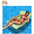 high-end water hammock lounge pool float toys made in china