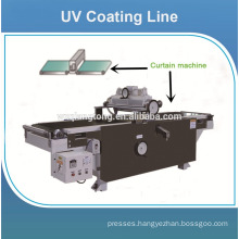 MDF board UV paint line / UV roller coating machine for glossy mdf board