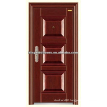 High Quality Steel Security Door KKD-317 With Transparent Paint and Germany Technology Finished