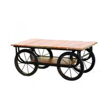 Carretilla plana de la vendimia - Carros de mano y carretillas