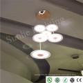 2015 Neue dekorative Aluminium-Anhänger Licht Moderne Metall hängenden Pendelleuchte für Esszimmer