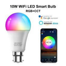 Bombilla LED de control de voz musical de 10W