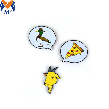 Set Pin Kambing Enamel Custom Metal Hadiah