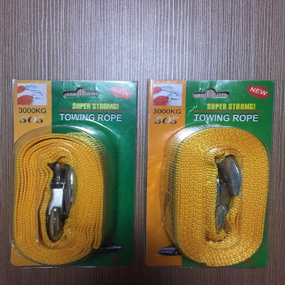 Polyester trailer tow strap