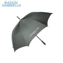 190T Pongee paraguas tela 100% poliéster recto promocional gran lluvia paraguas fabricante China con impresiones del logotipo